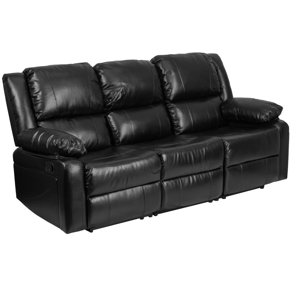 curved-back-leather-sofa